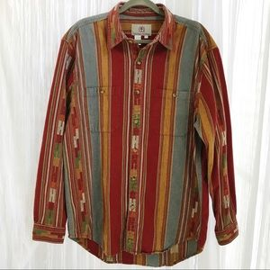 The Territory Ahead Southwest Woven Cotton Shirt